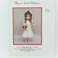 Vintage 5 Byron Doll Patterns from 1982-1986