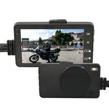 Motorcycle HD 720P DVR Camera Motorbike Dual Dash Cam Video Camcorder Waterproof