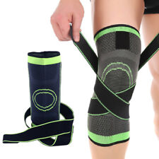 Jogging Running Sports Weaving Knee Brace 3D Breathable Joint Sleeve Support