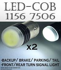 x2 CREE COB Xenon LED 1156 7506 7527 Super White Fit Tail Brake Light Bulbs S107