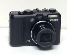 Canon PowerShot G9 12.1MP Digital Camera 7-44mm f/2.8 Zoom Lens 6X + Case