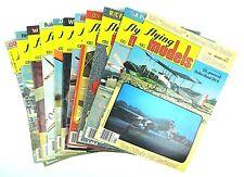 Vintage FLYING MODELS R/C Airplanes & Boats Magazine 1977 Jan-Dec No Nov LOT 11