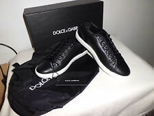 Dolce & Gabbana Sneakers Leather Black Size 43