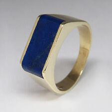 Ring mit Lapis Lazuli Besatz in 585/14K Gelbgold