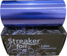 Streaker Foil - Coloured - Lilac 120mm x 100m