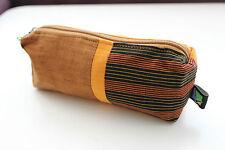 Ethnic multipurpe pencil case cosmetic purse Javanese Lurik batik handmade