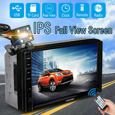 7'' 2Din IPS Touch Screen Car MP5 MP3 Stereo Player bluetooth FM Radio HD Camera