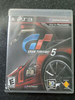 Gran Turismo 5 PS3 (Sony PlayStation 3, 2010) Complete CIB Tested