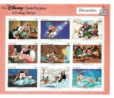 GRENADA - 1987 - DISNEY STAMPS - CLASSIC FAIRY TALES  - PINOCCHIO - MNH