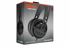 SteelSeries Siberia v3 Comfortable Gaming Headset - Black - HS-00004 -FREE SHIP™