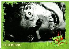 Night Of The Living Dead Base Card #   6   Flesh and Bones