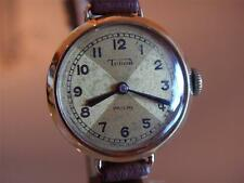 RARE Antique TUDOR Ladies Watch by ROLEX 9k Rose Gold 9ct PROUDS Retailed 1920's