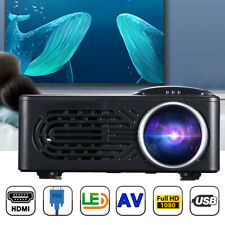 Mini Portable Pocket Projector HD 1080P Movie Video Projectors Home Theater HDMI