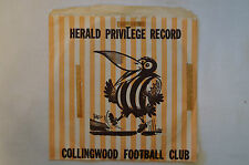 Collingwood - Vintage - 3DB - Herald Vinyl Record - Club Song and Others - Rare.