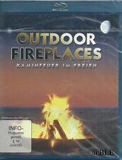 Blu-ray + Outdoor Fireplaces + Kaminfeuer im Freien + Feuer + Atmosphäre