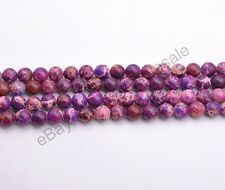 100Pcs  4MM 6MM 8MM 10MM Pick Assorted Natural Gemstone Round Spacer Loose Beads