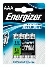 Energizer Ultimate Lithium AAA x4 Batteries
