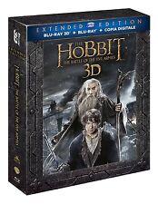 Lo Hobbit - La battaglia delle cinque armate 3D-Extended (2 Blu-Ray 3D + 3 B-Ray