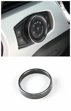 1*Aluminum Car Headlight decorative trim frame for Ford mustang 2015-2017 Black