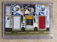 12-13 ITG Heroes Prospects Trios Gold JONATHAN HUBERDEAU / SHAW / HODGES /10