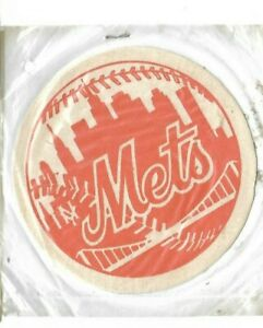 Vintage Empire New York Mets 1960'sEmblem Easy-Stick Press On Vintage Patch