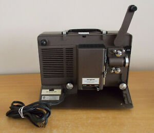 Argus Showmaster 870 Super Eight Projector Untested 8mm Film Projector