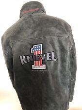 License Evil Knievel Genuine Original Leather Jacket Sz XXL New. Rare!
