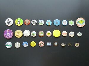 Vintage Badges: Holidays / Travel / Tourist Attractions etc. – Sold Individually