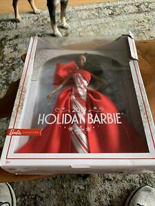 Holiday Barbie 2019 African American Signature Mattel Doll NEW