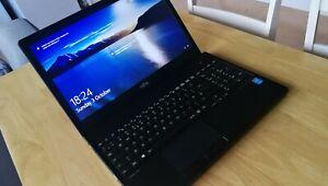 "Warranty fast business 15.6"" laptop Fujitsu core i5 8GB RAM 256GB SSD Windows10"