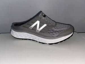 New Balance Women Size 9 Fresh Foam 900 V1 Sport Mule Slip On Clogs Gray WA900GY