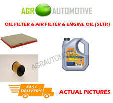 DIESEL OIL AIR FILTER KIT + LL 5W30 OIL FOR VAUXHALL ASTRA 2.0 194 BHP 2012-