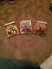 3 Guitar Hero Xbox Games
