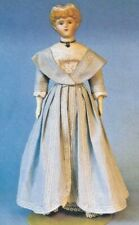 "17-18""ANTIQUE CHINA HEAD/PARIAN FASHION LADY DOLL DRESS OVERDRESS UNDIES PATTERN"