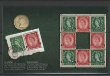 Engeland / Great Britain vel/sheet - Wilding Stamps (035)