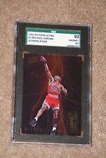 📈🔥1993-94 Ultra Scoring Kings Michael Jordan #5 SGC 8.5 NM-MT+ WAY NICER CARD