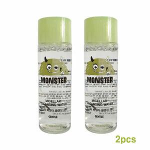 [Etude House] MONSTER Micellar Cleansing Water Sample 25ml 2pcs