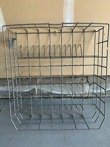 OEM KitchenAid Dishwasher Bottom Rack KUDC10FXSS -  #W10728159 - with 4 Rollers