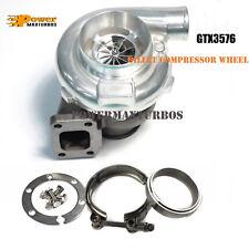 GT35 GTX3576 Billet wheel Turbo 0.82 AR T3/Vband Turbine Housing + Flange Clamp