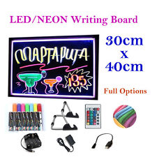 40x30cm Led/neon/fluorescent Writing Menu Board Advertising/light Shining Sign
