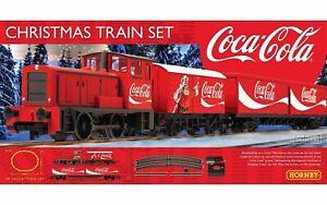 """Hornby OO Christmas Coca Cola """"Coke"""" Train Set"""