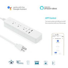 WiFi Smart Socket Outlet Wall Switch US Plug Work with Alexa Google Control Home