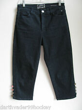 NYDJ ✿ NOT YOUR DAUGHTERS JEANS CAPRIS TUMMY TUCK  CUTE STYLE STRETCH  4  ~ NWOT