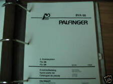 Palfinger Crane BVA 68 Fly JIB Parts List