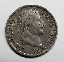 Très belle monnaie - 1 Franc - Napoléon Ier - 1809 B - Rouen -