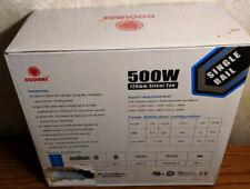 Coolmax I-500 500W Atx 12V V2.0 Power Supply brand new