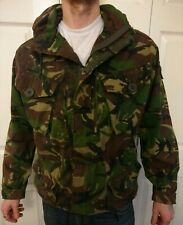 British NATO Army Issue Smock Hooded Windproof Woodland Colour Size 170/88 (M/L)