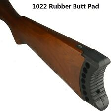 Ruger 1022 10/22 10-22 .22 Rifle Recoil Rubber Butt Pad Buttstock Pad, Black