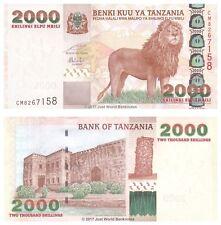 Tanzania 2000 Shillings ND (2003) P-37a Banknotes UNC