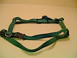 Pet Dog Vest Harness Green